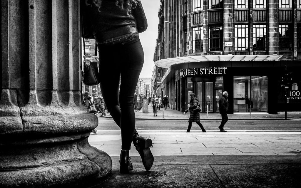 Cochrane, Watching the World go by, Glasgow Scotland 2017
