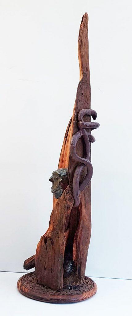 Eilmann, Einsichten Aussichten Verwicklungen, Holz Ton