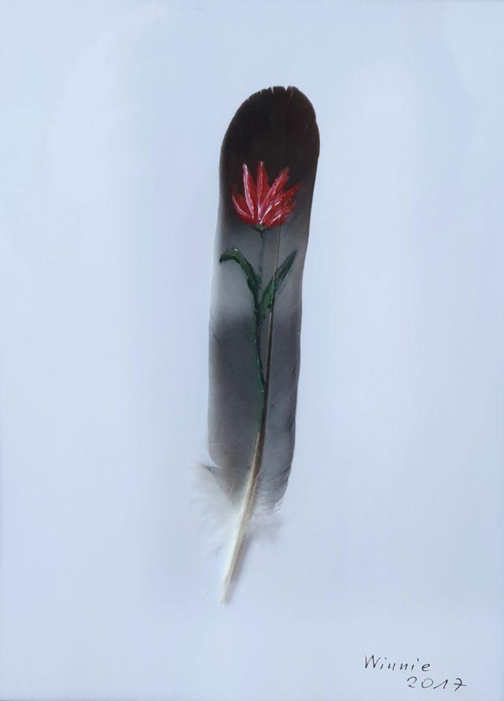 Winnie-Hasemann-Tulpe-auf-Taubenfeder