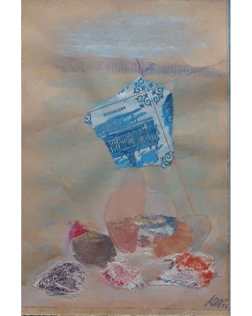 K. Meisgier Steine-am-nordmeer-collage-auf-papier