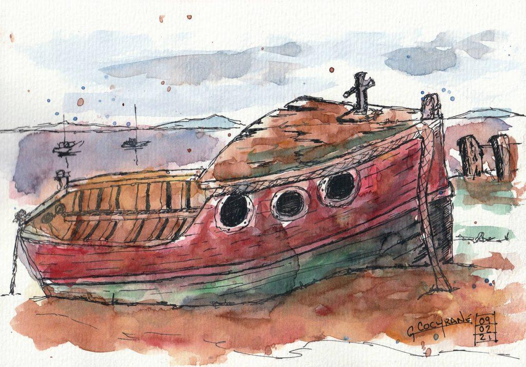 Cochrane Old Boat