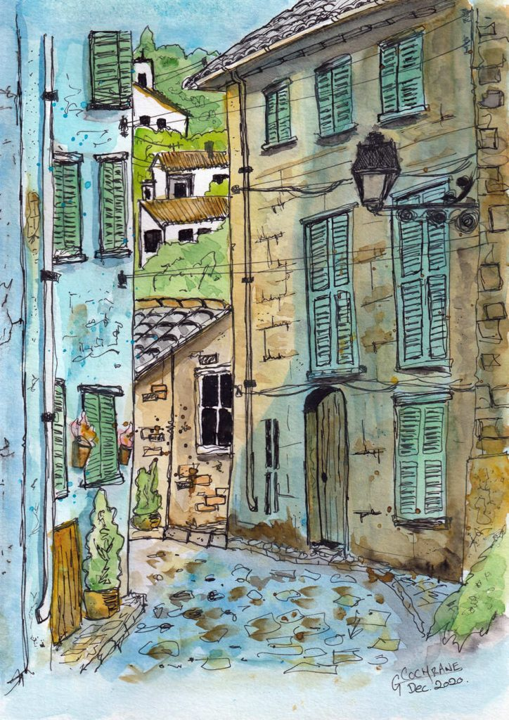 Cochrane Urban Sketch 1