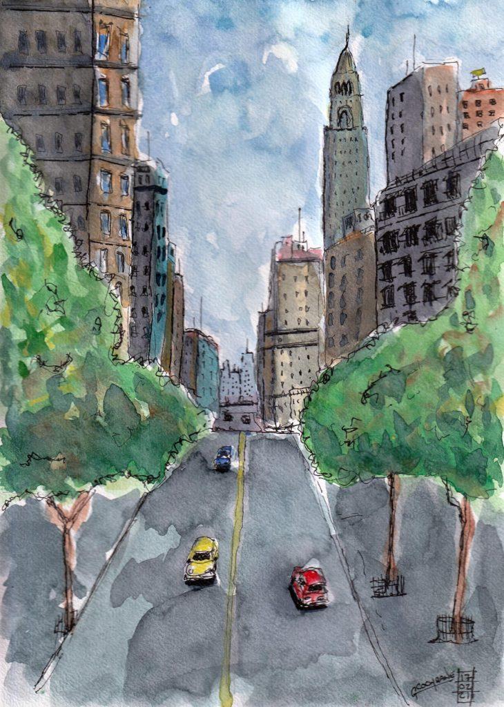 Cochrane Urban Sketch 3
