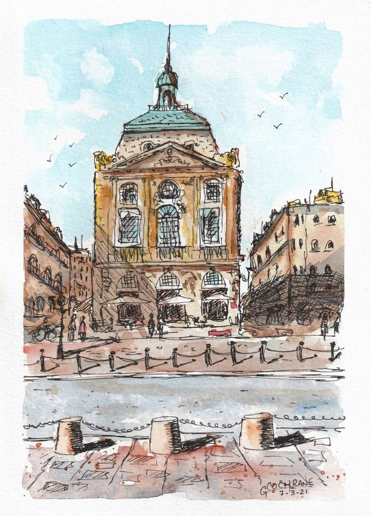 Cochrane Urban Sketch 4
