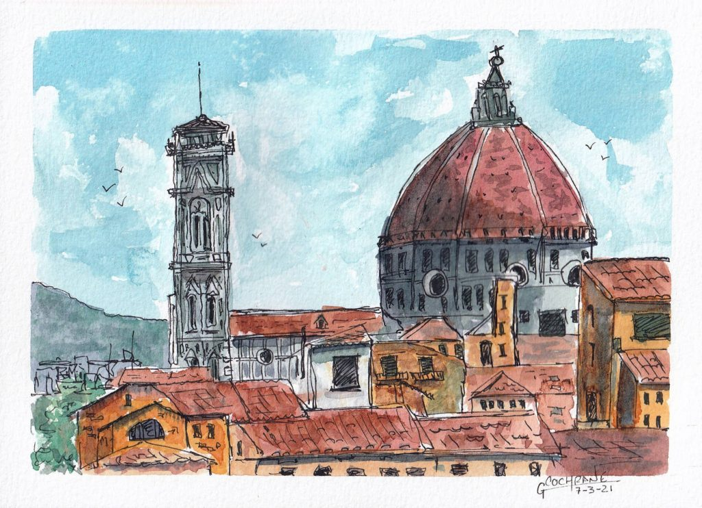 Cochrane Urban Sketch 5