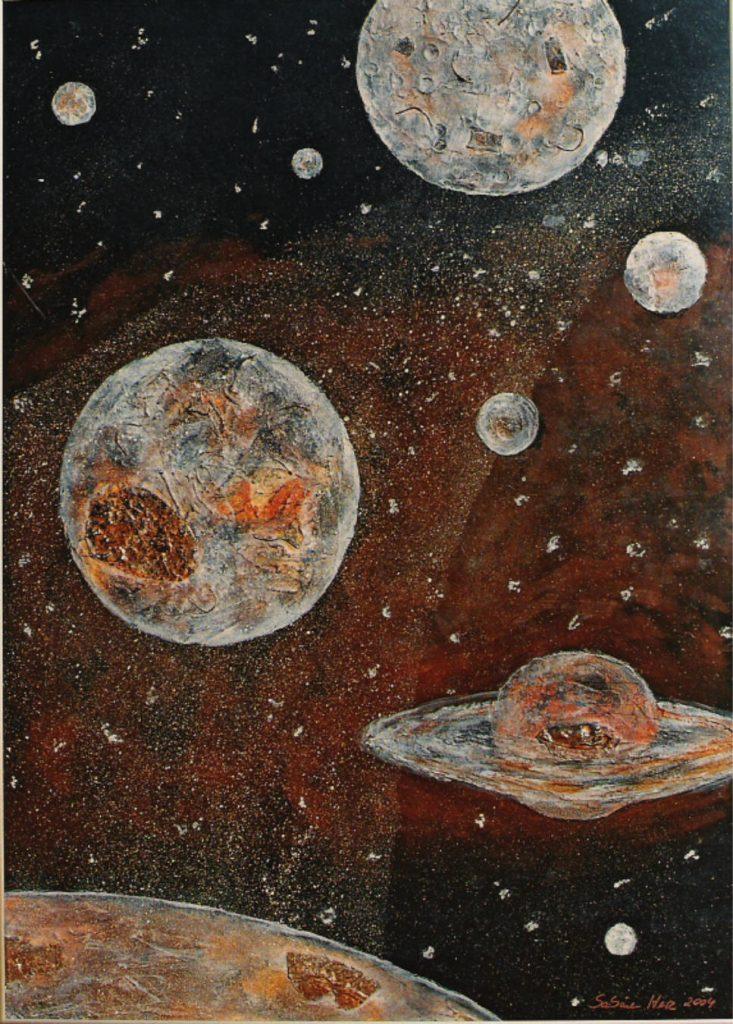 el universo, Sabine Herz